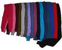 Детские шерстяные гамаши (лосины), для девочки, оптом, 74, Разные цвета