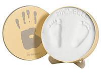 Baby Art Magic Box Отпечаток ручек и ножек в круглой коробочке NEW, фото 1