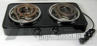 Плита электрическая Элна-020Н 2х-конф. широкий тэн