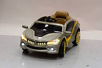 Лицензионный электромобиль BMW M 2701 ER 11 EVA колеса,серебро