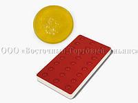 Профессиональная силиконовая форма для мармелада - Пастила - 24 фигуры, Ø 30 x h 11 мм