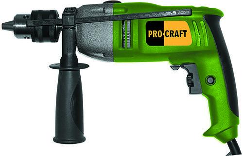 Дрель ударная Procraft PS-1650 понижающий редуктор