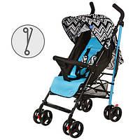 Детская коляска трость Bambi M 2376 голубая