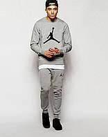 Мужской спортивный костюм Jordan, серый