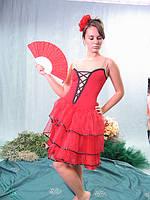 Кармэн - взрослый карнавальный костюм