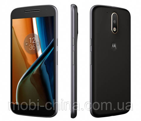 Смартфон Motorola Moto G4 Plus 16Gb Black
