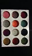 Бульонки для дизайна ногтей, 12 цветов в наборе