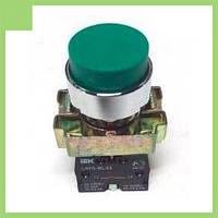 Кнопка управления LAY5-BL31 без подсветки зеленая 1з ИЭК