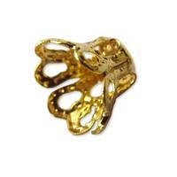 Корона обниматель для бусины Золотой 12 мм 1 шт