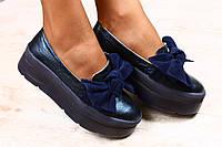Туфли  женские классические кожаные. Туфли делового стиля