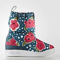Детские ботинки зимние для девочек Adidas Originals (Артикул: S76120)
