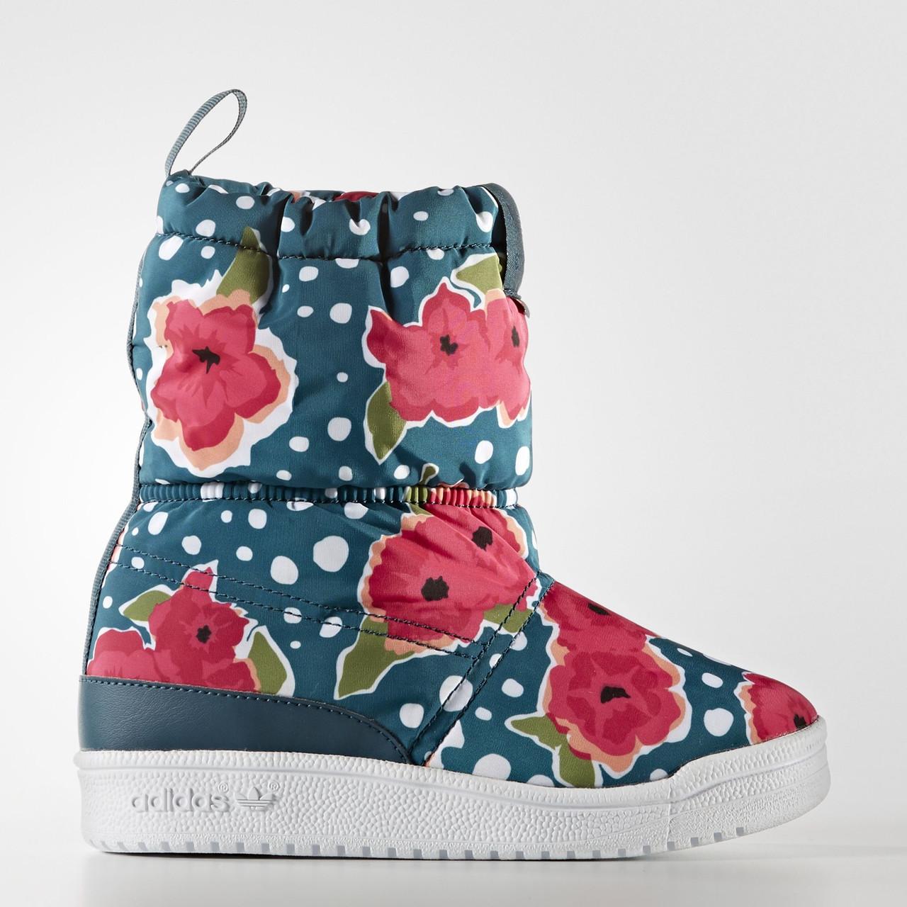 Купить Детские ботинки зимние для девочек Adidas Originals (Артикул ... ab4f3c812d5