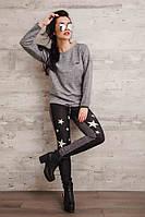 """Модный приталенные женские штаны """"Звездный стиль"""""""