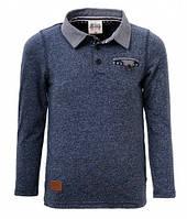 Рубашка поло для мальчика р.98-128 (арт.2748 темно-синий)