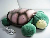 Подарок для ребенка — ночник-проектор Черепаха звездное небо, Sparkling Turtle