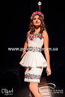 Платье с вышивкой, украинское