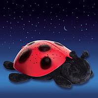 Необычный подарок для детей - ночник - проектор звездного неба Божья коровка, Twilight Ladybug