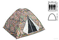 Палатка автомат, камуфляж 2х2 летняя