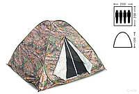 """Палатка автомат, летняя камуфляж 2х2 """"Лес"""""""