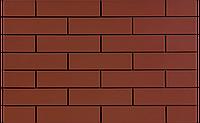Фасадная плитка Красная гладкая 245х65х6,5 мм