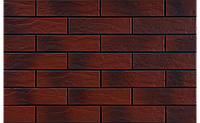 Фасадная плитка Кантри Вишня рустикальная 245х65х6,5 мм