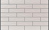 Фасадная плитка Кремовая рустикальная 245х65х6,5 мм