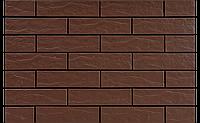 Фасадная плитка Коричневая рустикальная 245х65х6,5 мм