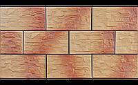 Фасадный камень Oсенний лист рустикальная 300х148х9 мм