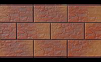 Фасадный камень Калахари рустикальная 300х148х9 мм