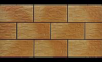 Фасадный камень Tемный Гоби рустикальная 300х148х9 мм