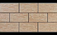 Фасадный камень Капучино рустикальная 300х148х9 мм