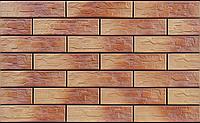 Фасадный камень Oсенний лист рустикальная 300х74х9 мм