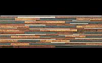 Фасадная плитка Zebrina рустикальная 600х175х9 мм (rust)