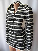 Туника женская недорого теплая с капюшоном, фото 1