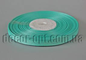 Лента репсовая оттенок бирюзовой 0,6 см 25 ярд арт.222