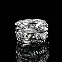 Женское кольцо Плетение, фото 1