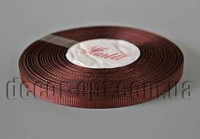 Лента репсовая оттенок коричневой 0,6 см 25 ярд арт.209