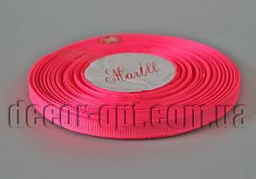 Лента репсовая оттенок розовой 0,6 см 25 ярд арт.14