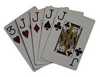 Покерные карты пластиковые, покер