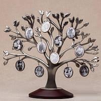 Рамка для фотографий Дерево металлическая 30 см