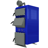 Твердотопливный котел длительного горения НЕУС-В 13 кВт