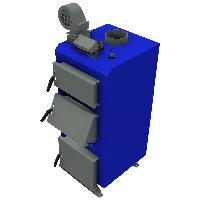 Твердотопливный котел длительного горения НЕУС-В 17 кВт