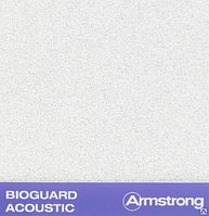 Плита Bioguard Acoustic Tegular Armstrong 600х600х17 мм