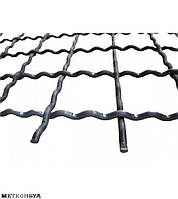 Канилированная сетка косая 105х105х6 мм