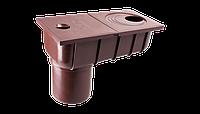 Колодец ливневой с прямым сливом O75/O100* Profil (коричневый)