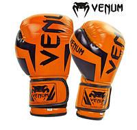 Перчатки боксерские VENUM FLEX orange 10,12 oz