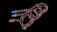Держатель трубы пластик.-L160 Система 130/100 (коричневый)