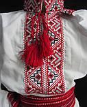 Вышиванка для мальчика с красным орнаментом Остап 2, фото 2
