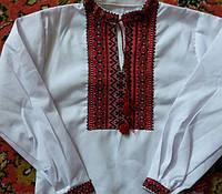 Вышитая рубашка для мальчика (1-8 лет)