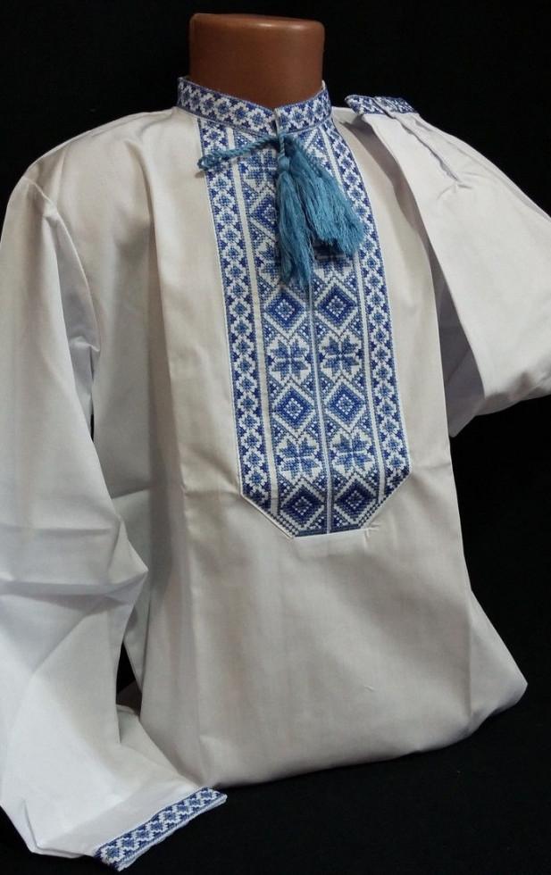 Вышитая рубашка для мальчика Петро